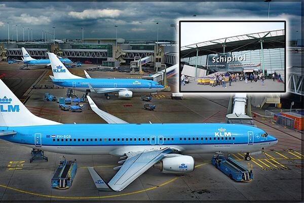 Schiphol Aeroport Amsterdam: al treilea dintre cele mai mari aeroporturi din Europa
