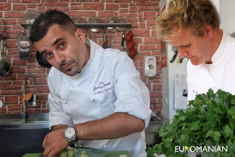 """Ioan """"Johnny"""" Șușală: sfaturi de succes de la un chef care a împărțit bucătăria cu Gordon Ramsay"""